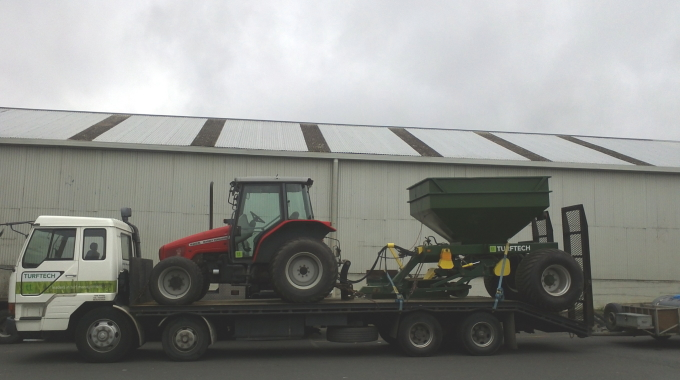 Turftech is moving
