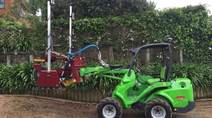 Turftech has a new toy